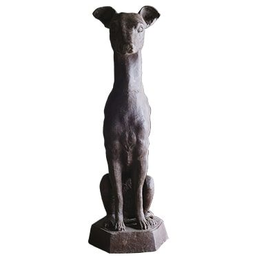 REF : FO1 WAXED IRON CAST DOG