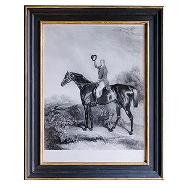 REF : G42 ENGLISH HORSEMAN, BROWN ET GOLD