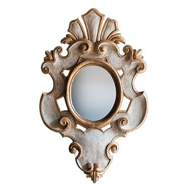 REF : M19 ITALIAN MIRROR BEIGE AND GOLD