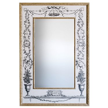 REF : M29 MIRROR WITH MEDICIS ENGRAVINGS