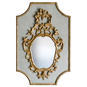 REF : M36 VENETIAN MIRROR BLUE AND GOLD