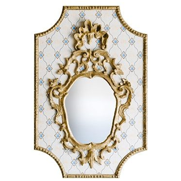 REF : M38 VENETIAN MIRROR ON WALLPAPER