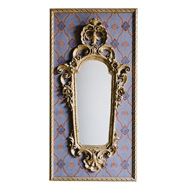 REF : M42 SMALL BAROQUE MIRROR ON PAPER