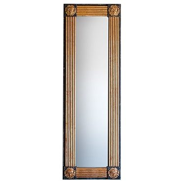 REF : M6 NARROW GORGONA MIRROR BLACK AND GOLD
