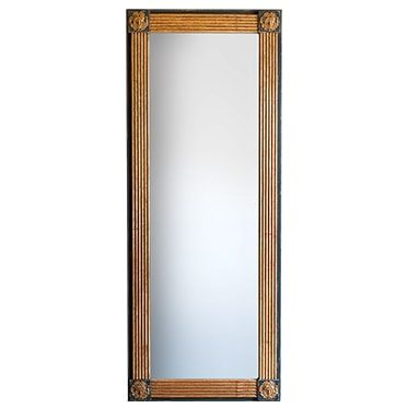 REF : M7 TALL GORGONA MIRROR BLACK AND GOLD