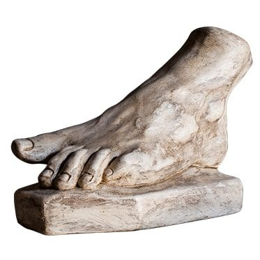 REF : PLA11 ROMAN ANTIQUE FOOT