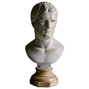 REF : PLA19 BRUTUS BUST GILDED STAND
