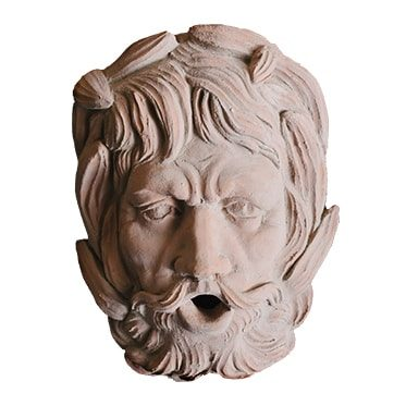 REF : TER C5 TERRACOTA ANTIQUE HEAD