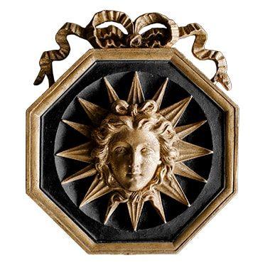 REF : B35 (BLACK) KING SUN BLACK AND GOLD