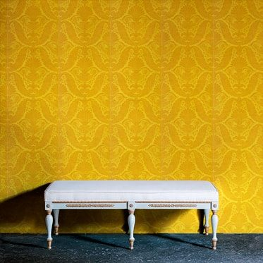 REF : EMPIRE 02 YELLOW WALLPAPER