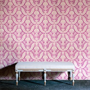 REF : EMPIRE 07 INDIAN PINK WALLPAPER