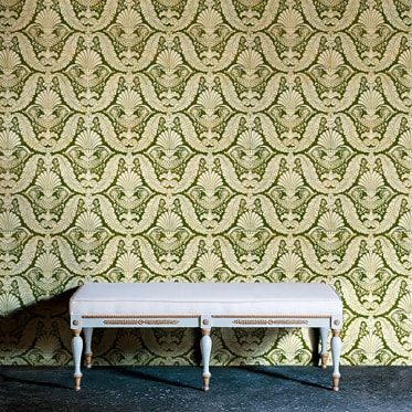 REF : EMPIRE 08 GREEN & YELLOW WALLPAPER