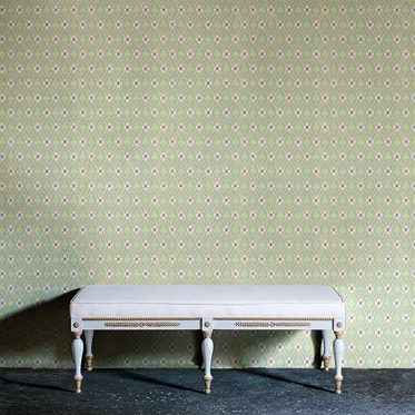 REF : FLEURON 12 ALMOND & YELLOW WALLPAPER