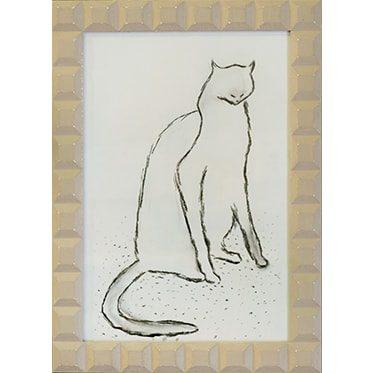 REF : A07 THE CAT, BEIGE